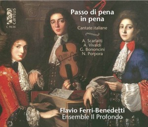 "Cover of ""Passo di pena in pena..."" CANTUS RECORDS @ 2012"