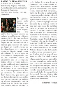 Scherzo (Spain) - Review Feb2013